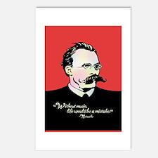 Nietzsche Music Postcards (Package of 8)