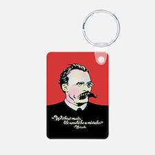 Nietzsche Music Keychains