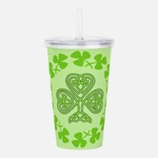 Unique Happy st. urho%27s day Acrylic Double-wall Tumbler
