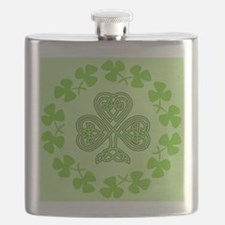 Cute Luck of the irish Flask