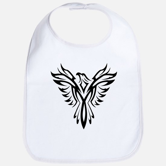 Tribal Phoenix Tattoo Bird Bib