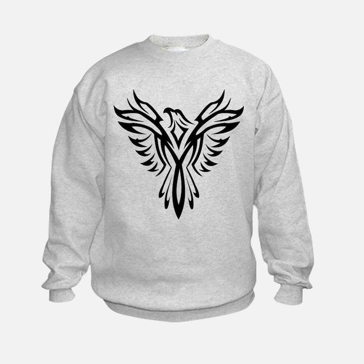 Tribal Phoenix Tattoo Bird Sweatshirt