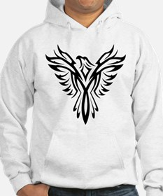 Tribal Phoenix Tattoo Bird Hoodie