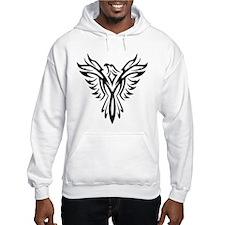 Tribal Phoenix Tattoo Bird Jumper Hoody