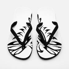 Tribal Phoenix Tattoo Bird Flip Flops