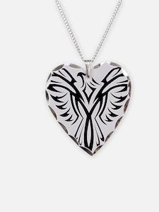 Tribal Phoenix Tattoo Bird Necklace