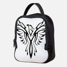 Tribal Phoenix Tattoo Bird Neoprene Lunch Bag