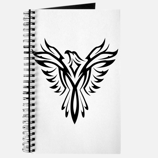 Tribal Phoenix Tattoo Bird Journal