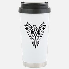 Tribal Phoenix Tattoo B Travel Mug