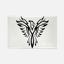 Tribal Phoenix Tattoo Bird Magnets