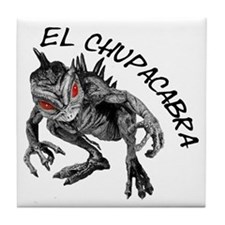 New Chupacabra Design 2 Tile Coaster