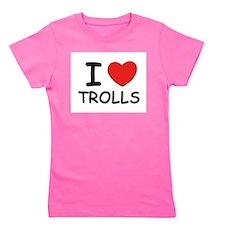 Cute Troll Girl's Tee