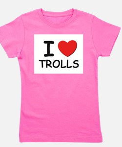 Unique Troll Girl's Tee