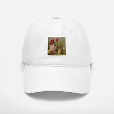 Vintage Flowers Baseball Baseball Cap