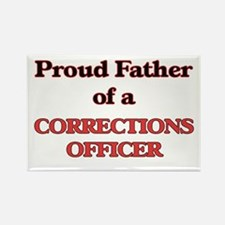 Proud Father of a Corrections Officer Magnets