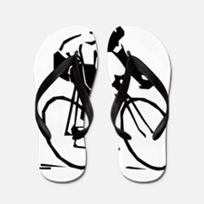 Cyclist Flip Flops