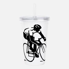 Cyclist Acrylic Double-wall Tumbler