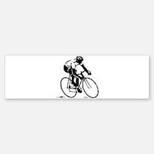 Cyclist Bumper Bumper Bumper Sticker