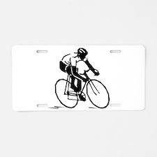 Cyclist Aluminum License Plate