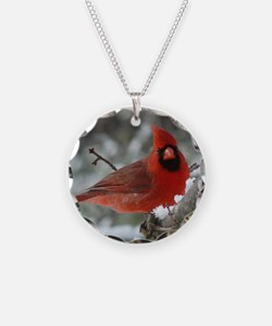 Cardinal Winter Necklace