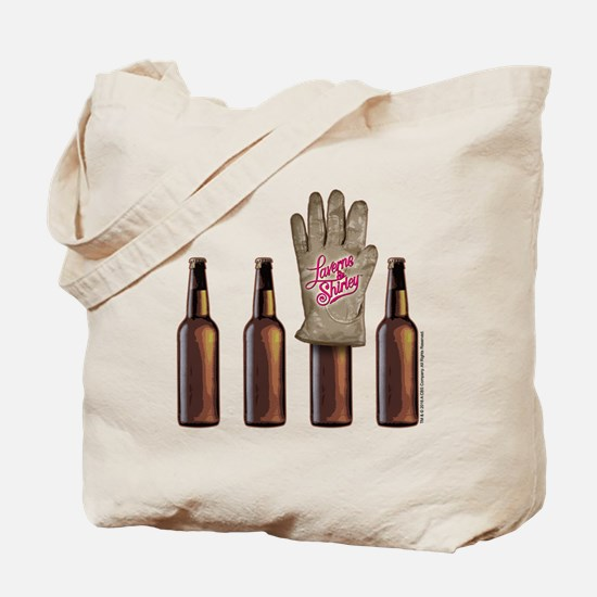 Laverne and Shirley: Shotz Beer Design Tote Bag