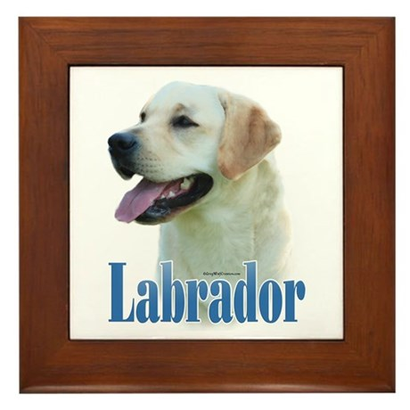Lab(yellow)Name Framed Tile
