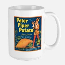 Peter Piper Potato Vintage Cr Large Mug