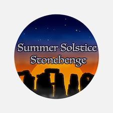 Cute Summer solstice Button