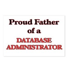 Proud Father of a Databas Postcards (Package of 8)
