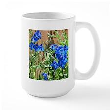 Butterfly Delphinium Mug