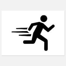 Fast runner Invitations