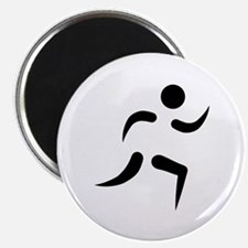 "Running icon 2.25"" Magnet (10 pack)"