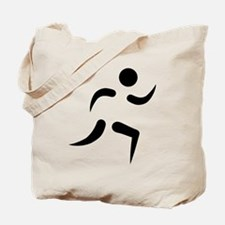 Running icon Tote Bag