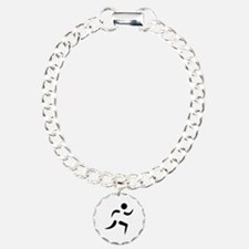 Running icon Charm Bracelet, One Charm