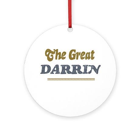 Darrin Ornament (Round)