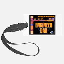 Engineer Dad Luggage Tag