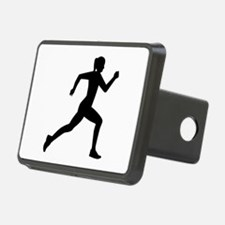 Running woman girl Hitch Cover