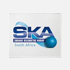 SKA Sourth Africa Throw Blanket