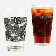 Cute Pixel Drinking Glass