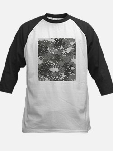 Pixel Grey and White Urban Camoufl Baseball Jersey