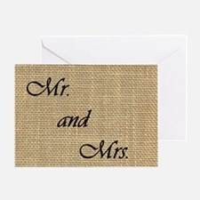 Cute Marriage vow Greeting Card