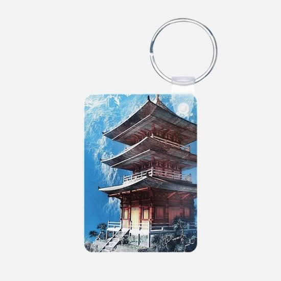 Zen Temple Keychains