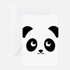 Cute Panda bears Greeting Cards (Pk of 20)