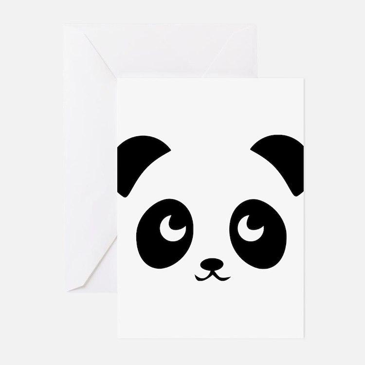 Cute Cute panda Greeting Cards (Pk of 20)