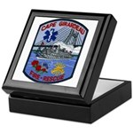 Cape Girardeau Fire Keepsake Box