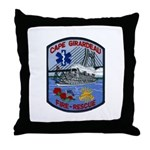 Cape Girardeau Fire Throw Pillow