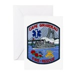 Cape Girardeau Fire Greeting Cards (Pk of 20)