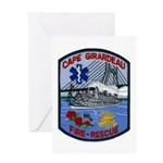 Cape Girardeau Fire Greeting Card