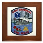Cape Girardeau Fire Framed Tile