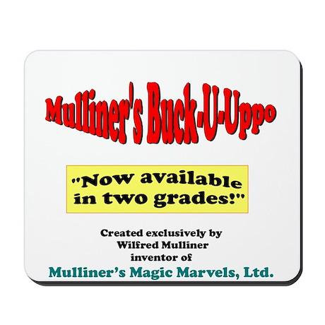 Mulliner's Buck-U-Uppo Mousepad